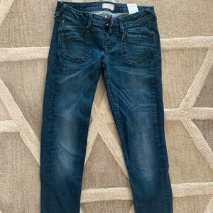 Dark denim Pepe Jeans Slim fit size 24